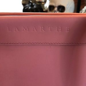 Lamarthe Bags - Lamarthe from France Pink leather Tote